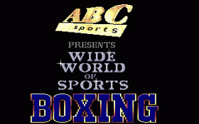 ABC's Wide World of Sports Boxing
