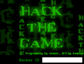 Hack the Game