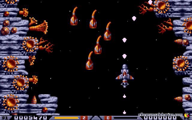 Une copie décran du jeux Xenon II